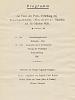 01 Programm Preisverleihung, 30.10.1926