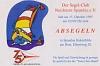Einladung Absegeln 1995 (5 Gäste)
