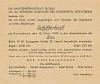 Schifferball Eintrittskarte, 12.03.1949 (1 Leitz)